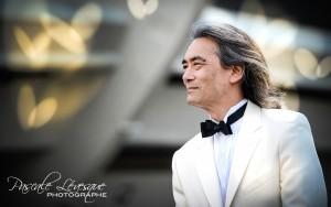 L'Orchestre symphonique de Montréal et son directeur musical, Kent Nagano, convient les Montréalais à un événement musical incontournable animé par le ténor Marc Hervieux. Événement qui a eu lieu à L'Esplanade Financière Sun Life du Parc olympique à Montréal en ce mercredi 14 août 2013. SUR LA PHOTO : PASCALE LEVESQUE / AGENCE QMI